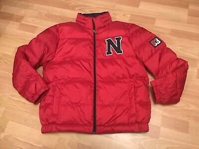 Rare Nautica Mens Lil Yachty Quilted Puffy Jacket Boaty L Red Hip Hop Rap