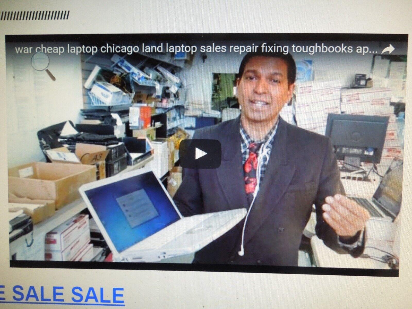 NO RAM/NO HDD/USED/Panasonic Toughbook CF-54 Semi Rugged Laptop i5/PARTS LAPTOP