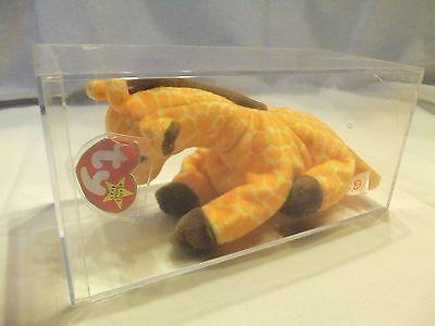 TY Beanie Babies Giraffe ** TWIGS ** CASED 5th Gen NWT ERROR No Tush #