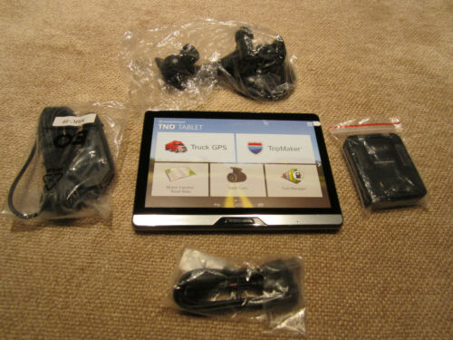 "Rand McNally TND T80 8"" Tablet TRUCK GPS Lifetime Maps & Traffic - ""NEW"" SURPLUS"