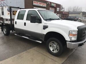 2008 FORD XLT  4 DOOR HYD DUMP BOX GAS LOADED 4X4 -  SALE!!!!