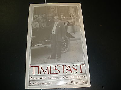 Book Times Past Roanoke Times   World News Centennial Edition Reprint Book