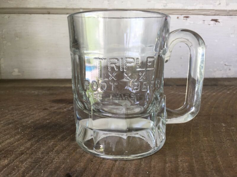 Vintage Triple XXX Root Beer Mug