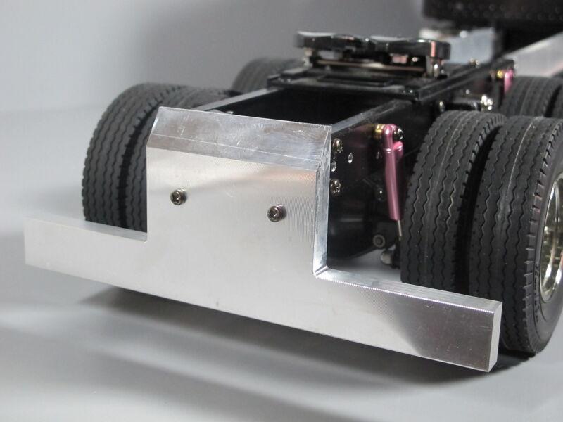 Aluminum Rear T-Bar Cross Bumper Mount Guard Tamiya 1/14 King Grand Hauler Semi
