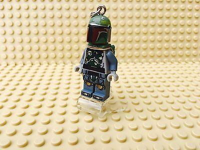Star Wars Boba Fett Mini-Figure Keyring / Keychain UK SELLER