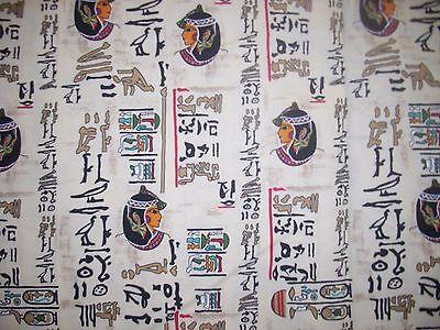 Chinese Japanese Asian Writing Girl  Fabric Made By Jo Ann Fabrics  2 Yards 12