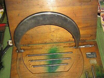 Vintage Tumico Outside Micrometer 6-9caliperstubularrarem-09lnramerican