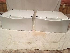 Washer & Dryer Base $175