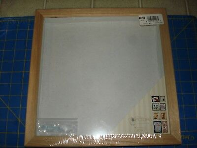 SHADOW BOX UNFINISHED WOOD  10'' X 10'' TIMELESS COLLECTIBLE  NEW SEALED