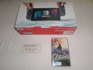 Nintendo Switch Console with Zelda Breath of The Wild game Cooran Noosa Area Preview