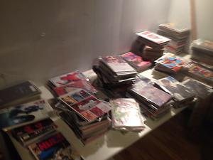 Awesome Comic Collection for sale 30 long boxes