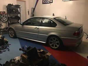 BMW E46 330ci ZHP 6SPD PART OUT (TITAN SILVER)