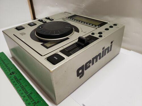 Gemini CDJ-20 Top Load Pro DJ CD Player w/ -16/+16 Pitch Bend TESTED WORKING