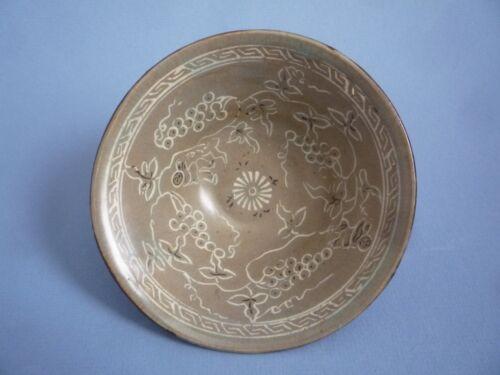 Korean Koryo Dynasty 12th to 13th century boys Pattern Bowl