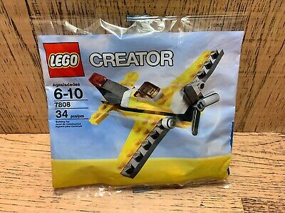 Lego creator 7808 Plane New Sealed Polybag