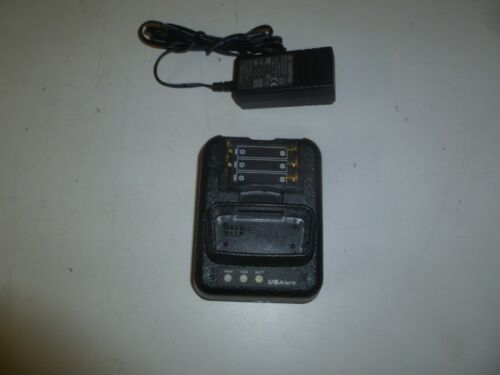 US Alert Watchdog AXXWDC1 Fire EMS Pager Charger w Power Cord r414