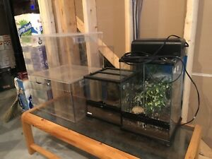 Reptile Enclosures - Like New - Exo Terra + more! $150 for all!