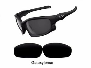 Galaxy Replacement Lenses For Oakley Split Jacket Sunglasses Black Polarized