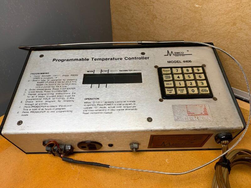 MENCO PROGRAMMABLE TEMPERATURE CONTROLLER MODEL 4406