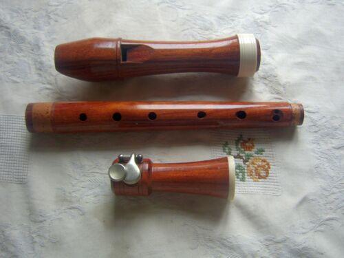 Vintage Wooden Baerenreiter Meisterflöte  Alto / Treble Recorder, Baroque, Tulip
