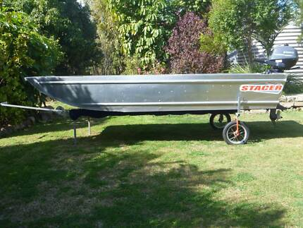 3 mtr. Stacer boat and 2.5 Hp Yamaha 4/ St O/board. Used twice. Beaudesert Ipswich South Preview