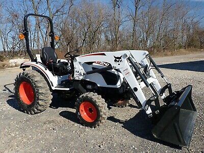 New 2020 Bobcat Ct2040 Compact Tractor W Loader 4x4 Hydro 540 Pto 39.6 Hp