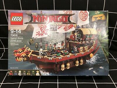 LEGO Ninjago Movie DESTINY'S BOUNTY 70618 Sealed New