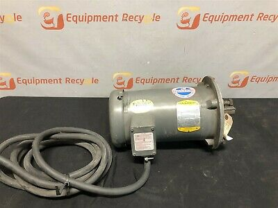 Baldor Industrial Motor Vm3611t 182tc Frame 3 Phase 3 Hp Electric 1725 Rpm