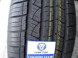 4 New 235/55R18 Inch Lion Sport 4X4 HP Tires 235 55 18 R18 2355518 55R