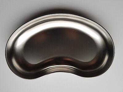 Nierenschale aus Edelstahl matt 30,5 x 16,5 x 4 cm Schale Abwurf Metall NEU