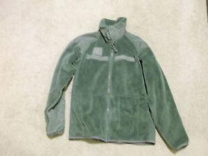POLARTEC-G-III-ECWCS-FLEECE-JACKET-FOLIAGE-SIZE-SMALL-REGULAR