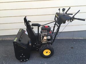Snowblower almost brand new for $900 or best offer