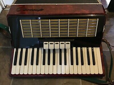 Russian piano accordion full working order has been used but still in good state