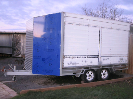 Enclosed Tandem Trailer - Unfinished Project