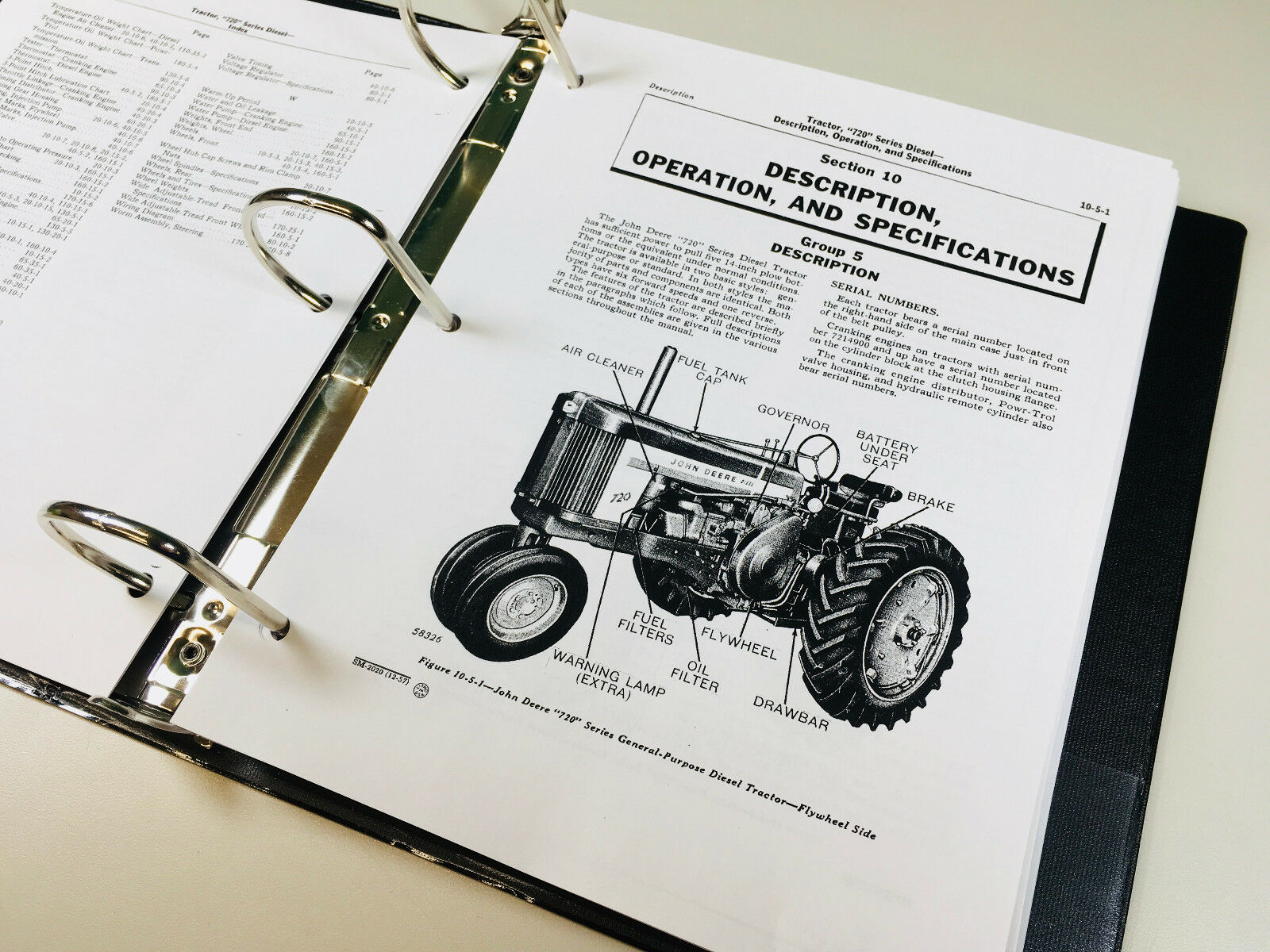 This service manual shows you how to repair and overhaul components