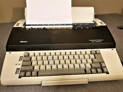 Sears Roebuck Sr1000 The Electronic Ii Typewriter Tested Working