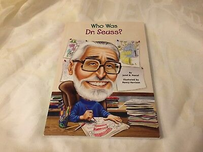 Who Was?: Who Was Dr. Seuss? by Janet B. Pascal and Who HQ (2011, - Who Was Dr Seuss