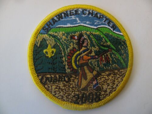 BSA Boy Scout  Shawnee Chapter Kansas City MO  Patch NOS New Stock Free Shipping