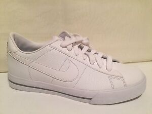 ce3f8daab NIKE 354496-110 Sweet Classic Women s Casual Shoe White Leather Womens SZ  8.5