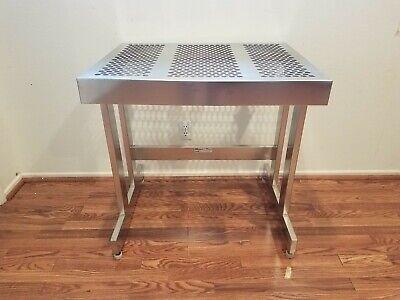 Nta Industries 1117c1 Stainless Steel Clean Room Workstation Or Homework Desk