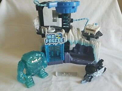 Imaginext EXCLUSIVE Batman DC Super Friends MR FREEZE HEADQUARTERS Blue Clayface