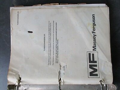 Massey Ferguson 1105 1135 1155 Tractor Service Manual