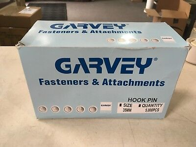 "Garvey Fasteners & Attachments 1.5"" C-Hooks 35mm 5,000 Pieces"