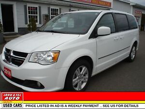 2016 Dodge GR Caravan $19,995*or $92.77 weekly on the road CREW