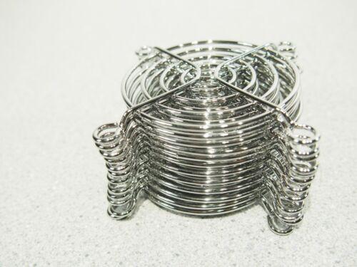 Lot 50 Brand New Qualtek 08147 Metal Fan Finger Guards for 60mm 6CM Fan