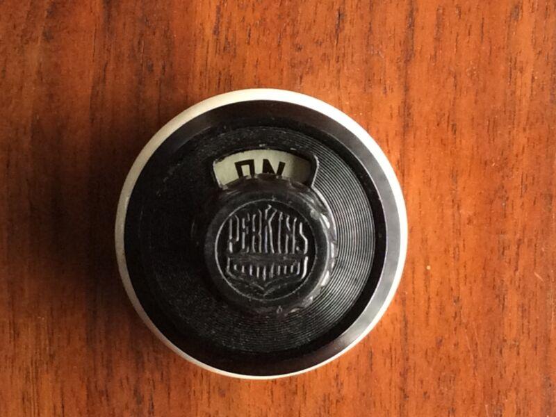Vintage Perkins Bryant Bakelite Surface Rotary Switch 2047 NOS Knob & Tube