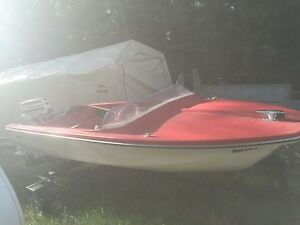Comet 14ft boat  with 35hp Johnson motor