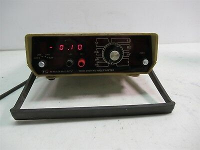Vintage Keithley 160b Digital Multimeter Benchtop Portable Lab Unit