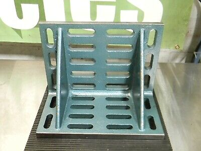 Slotted Double Web Angle Plate 16 X 9 X 12 Cast Iron Machined
