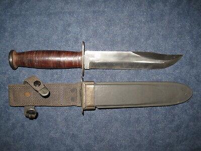 US WW2 UDT Unfullered Blade Mark 2 Knife